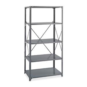 36 x 18 Commercial 5 Shelf Kit