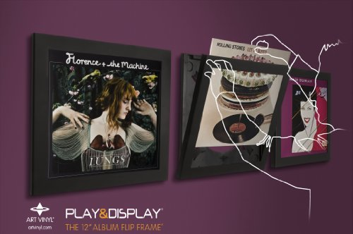 Art Vinyl Play  &  Display Record Frame Triplepack (Black)