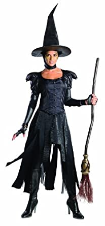 Rubie's Costume Disney's Oz The Great and Powerful Adult Deluxe Wicked Witch Of The West Dress and Hat, Black, X-Small