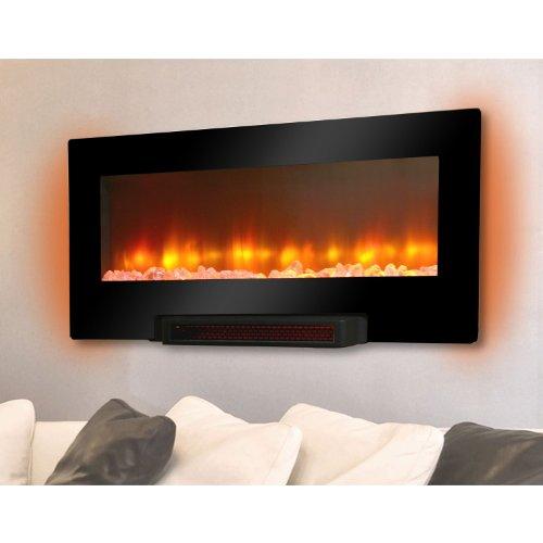 Grand Aspirations Electric Flat Panel Infrared Fireplace image B00FP67MU0.jpg