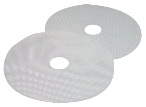 Nesco MS-2-6 Large Clean-a-Screen for FD-1010/FD-1018P/FD-1020 Dehydrators, Set of 2