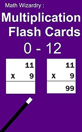 math wizardry multiplication flash cards 0 to 12 ebook scott douglas kindle store. Black Bedroom Furniture Sets. Home Design Ideas