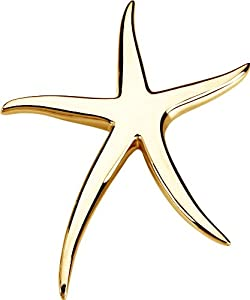 Sterling Silver Starfish Brooch / Pendant