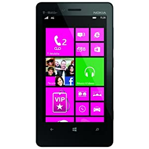 nokia lumia 810 black 8gb t mobile cell