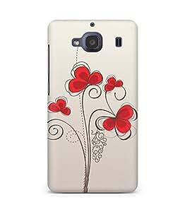 Amez designer printed 3d premium high quality back case cover for Xiaomi Redmi 2S (Colors patterns bright)