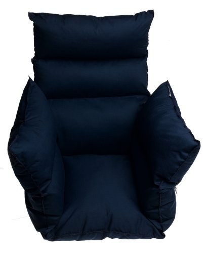 Duro-Med Comfort Pillow Cushion with Six Ties, Navy