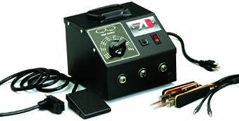 "American Beauty 105L7 High Capacity Tweezer-Style Resistance Soldering System, 1100 watt, 1/8"" Electrode"