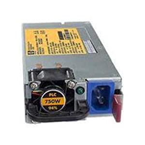 HP 599383-001 AC power supply - 750W hot-plug, 1U form factor