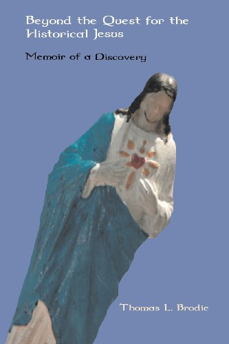 Cover of Brodie's book &quot;Beyond the Quest for the Historical Jesus&quot;