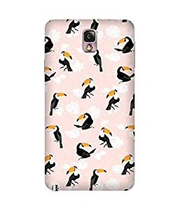 Pink Bird Samsung Galaxy Note 3 Case