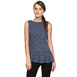 Annapoliss Women's Tops (ANWH13_Navy_Large)