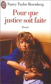 Citation Film Que Justice Soit Faite Infos Et Ressources