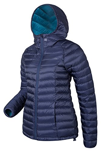 Mountain Warehouse Giacca in piumino idrofobico Donna Horizen Blu navy 50