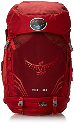 Osprey Youth Ace 38 Backpack, Paprika Red, One Size (Osprey Backpack Ace compare prices)