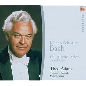 Also hat Gott die Welt geliebt, BWV 68: Aria: Mein Glaeubiges Herze (Soprano): Aria: Du bist geboren mir zugute