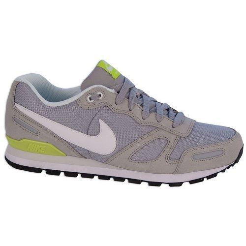 Nike Air Waffle Trainer Sneaker Akuelle Farbe hellgrau/weiß/gelb, Schuhgröße:EUR 47.5