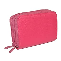 Buxton Wizard Wallet for Women (pink)