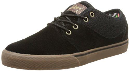 Globe Mahalo Sneakers, Unisex Adulto, Nero (black/tobacco gum), 42