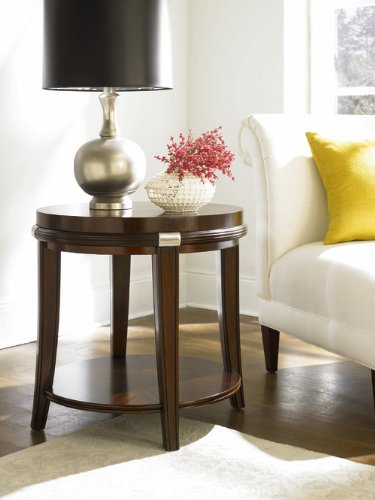 Cheap Hammary Pavilion Round End Table (169-916)