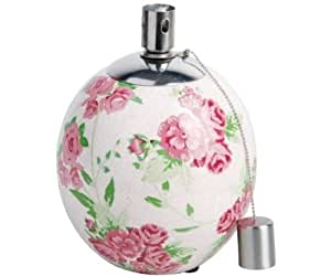 Esschert Design Usa Rose Print Outdoor Table Oil Lamp Patio L