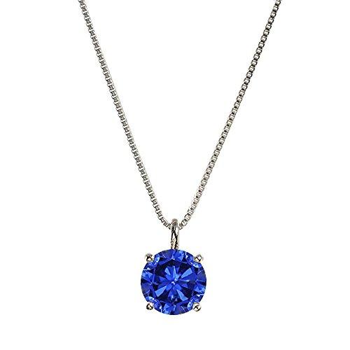 [キョウセラジュエリー] kyocera jewelry プラチナクレサンベールブルーサファイアペンダント WPDS2580