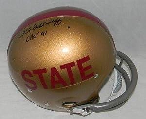 Fred Biletnikoff Signed Helmet - Florida State Seminoles Throwback Rk - Autographed...