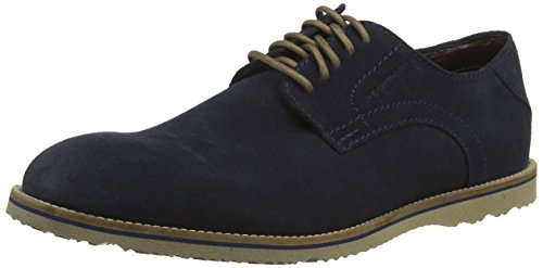 Rockport JD PLAIN TOE, Scarpe Derby con lacci uomo, Blu (Blau (NEW DRESS BLUES SDE)), 42.5
