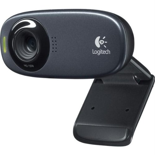 Logitech 5Mp Usb 2.0 Hd Webcam With 5' Cable