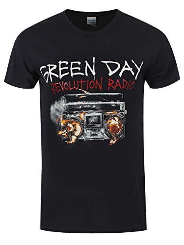 Green Day Revolution Radio, TS Black XXL/ 112 cm- 117 cm