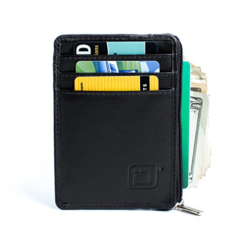 RFID Blocking Secure Mini Wallet - Black (Mens Wallets Id Protection compare prices)