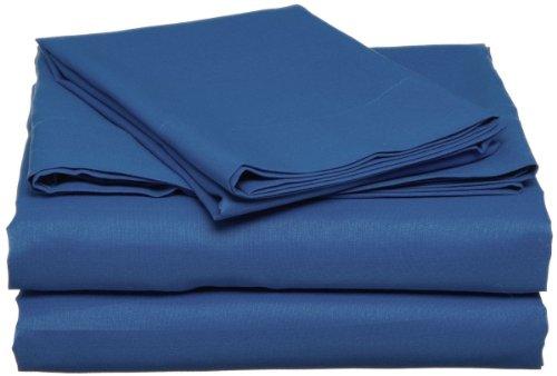 Dark Blue Twin Xl Sheet Set Navy Extra Long Bedding front-748621
