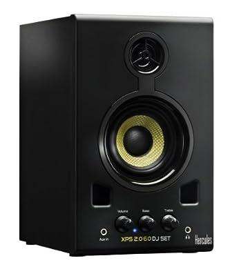 Hercules DJ 4769226 Hercules XPS 2.0 60 DJ SET Monitor Speakers (Black)