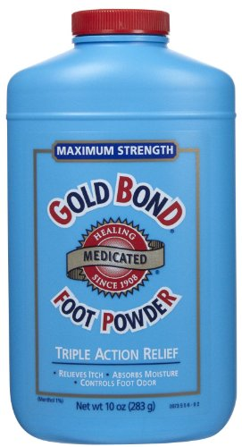 Gold Bond Medicated Foot Powder, Size: 10 Oz at Sears.com