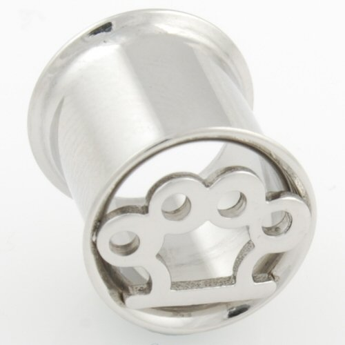 One Stainless Steel Double Flared Brass Knuckles Eyelet: 3/4