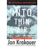 Image of [(Into Thin Air: A Personal Account of the Mt. Everest Disaster )] [Author: Jon Krakauer] [Oct-1999]