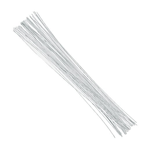Decora 22 Gauge White Floral Wire 16 inch,50/Package (Floral Wire 22 Gauge compare prices)