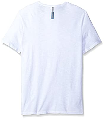 Calvin Klein Jeans Men's Short Sleeve Lava Print Crew Neck T-Shirt