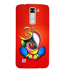Vizagbeats Lord Ganesha Back Case Cover for LG K10