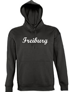Shirtstown Kapuzen Sweatshirt City Stadt Shirt Freiburg Deine Stadt FUN kult, Größe XS-XXL