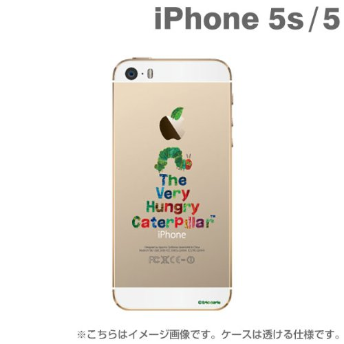 The Very Hungry Caterpillar Clear Case for iPhone 5s/5 (1. Title)