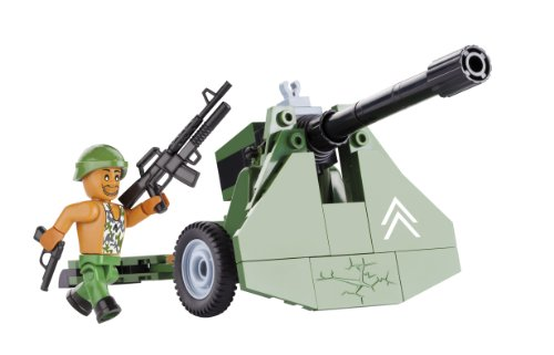 COBI Small Army Heavy Howitzer Construction Vehicle