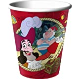 Hallmark Disney Jake And The Never Land Pirates 9 Oz. Paper Cups [Toy]