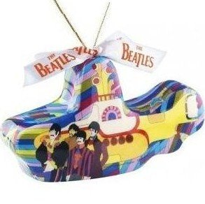 BEATLES Yellow Submarine CHRISTMAS ORNAMENT