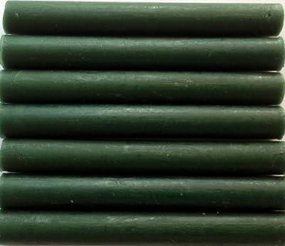 Forest (dark) Green Flexible Glue Gun Sealing Wax - 7 Sticks