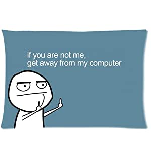Amazon Com Classic Funny Quotes If You Are Not Me Get Away From My Computer Pattern Design