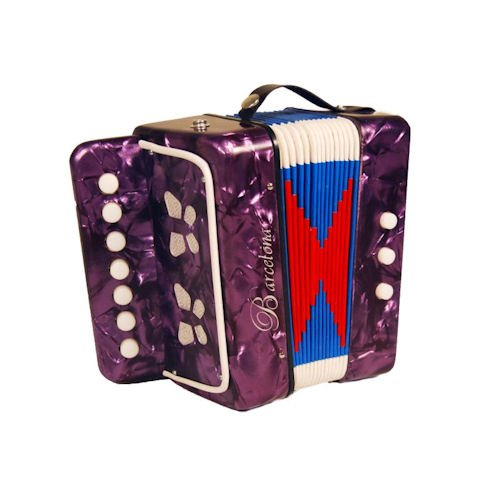 Barcelona Children's Toy Accordion - Purple