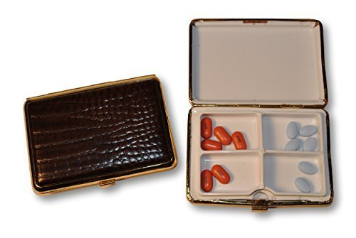 budd-leather-croco-calf-4-section-pill-box-large-brown-by-budd-leather