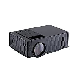 Generic E51002248 Home Theater Portable Mini LED/LCD Projector (Black)