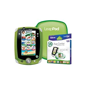 LeapFrog LeapPad2 Explorer Ultimate Learning Gift Pack, Green