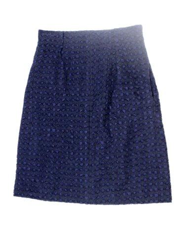 Nina Ricci womens polka dot boucle a line wool skirt
